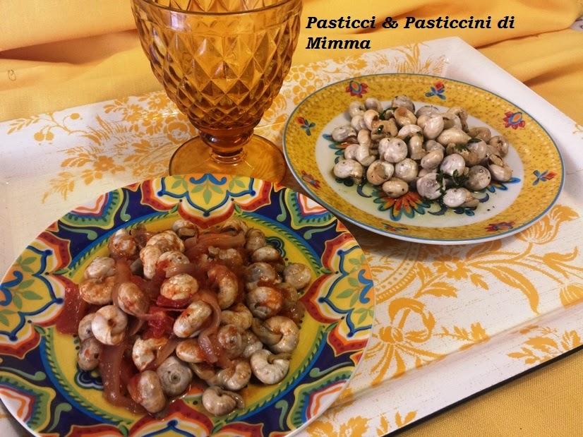 lumache bianche - per il festino della santuzza ovvero... viva palermo e santa rosalia!!!!!