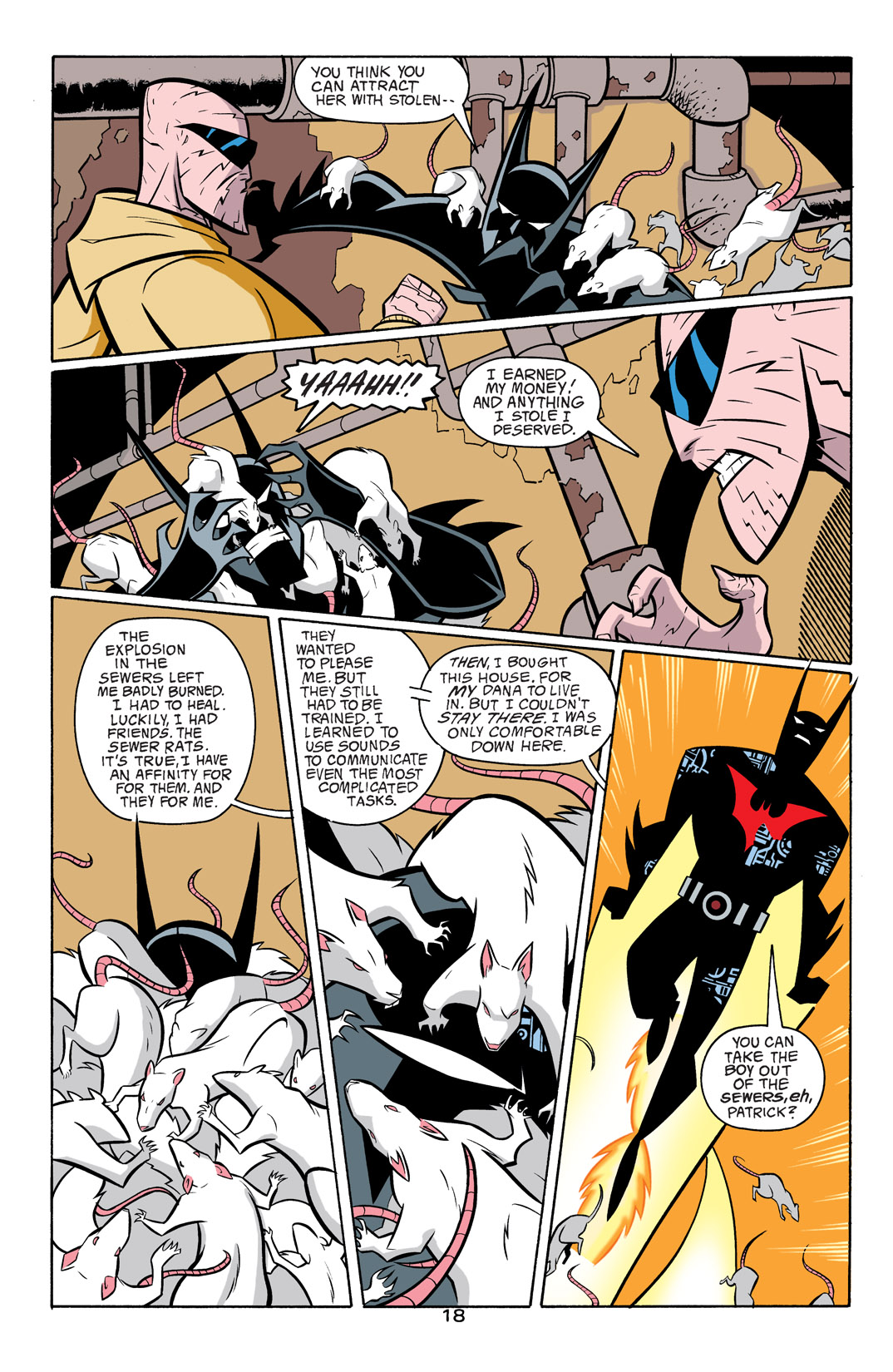 Batman Beyond [II] Issue #17 #17 - English 19