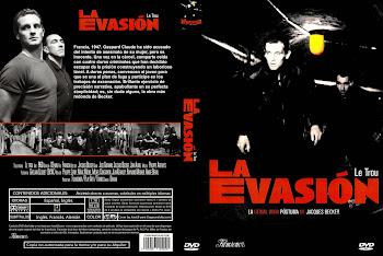 Carátula dvd: La evasión (1960) (Le trou)