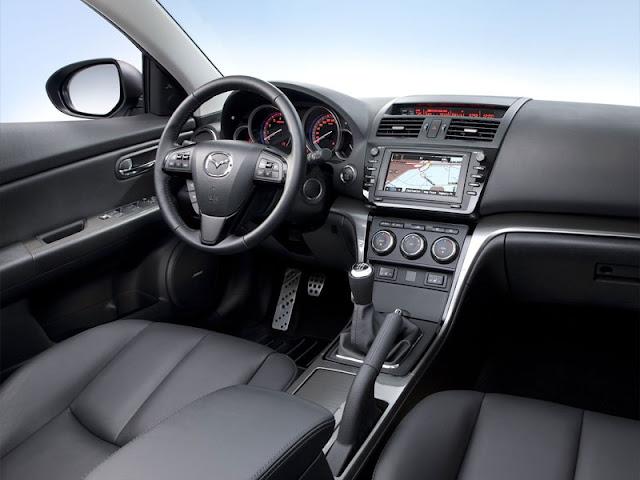 Inside Mazda 6 photo
