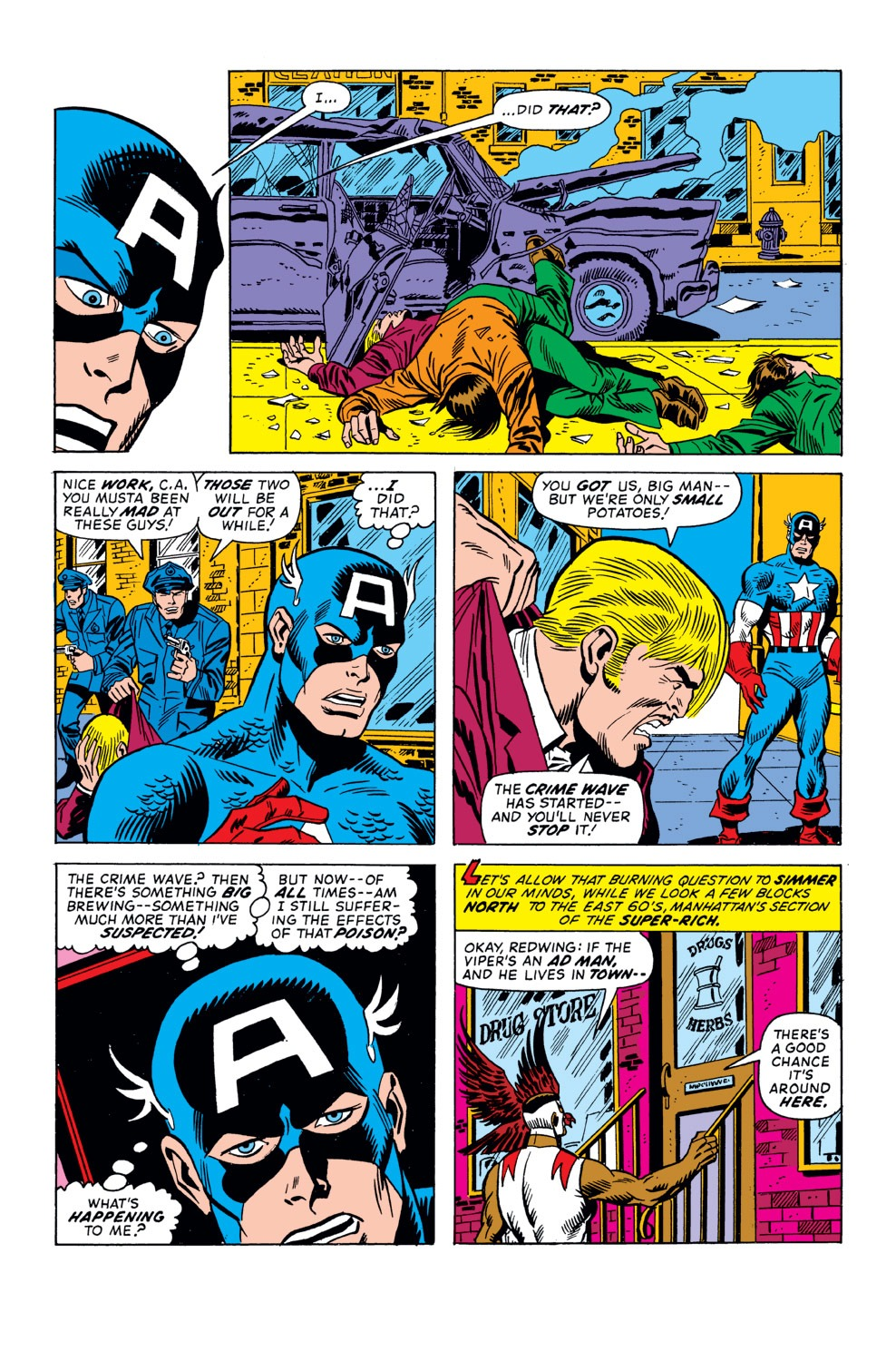 Captain America (1968) Issue #158 #72 - English 14