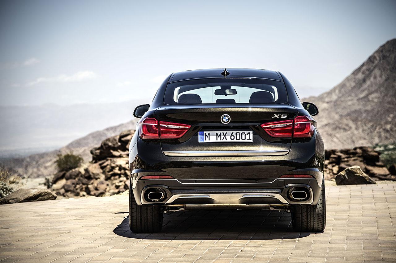 BMW X6 rear