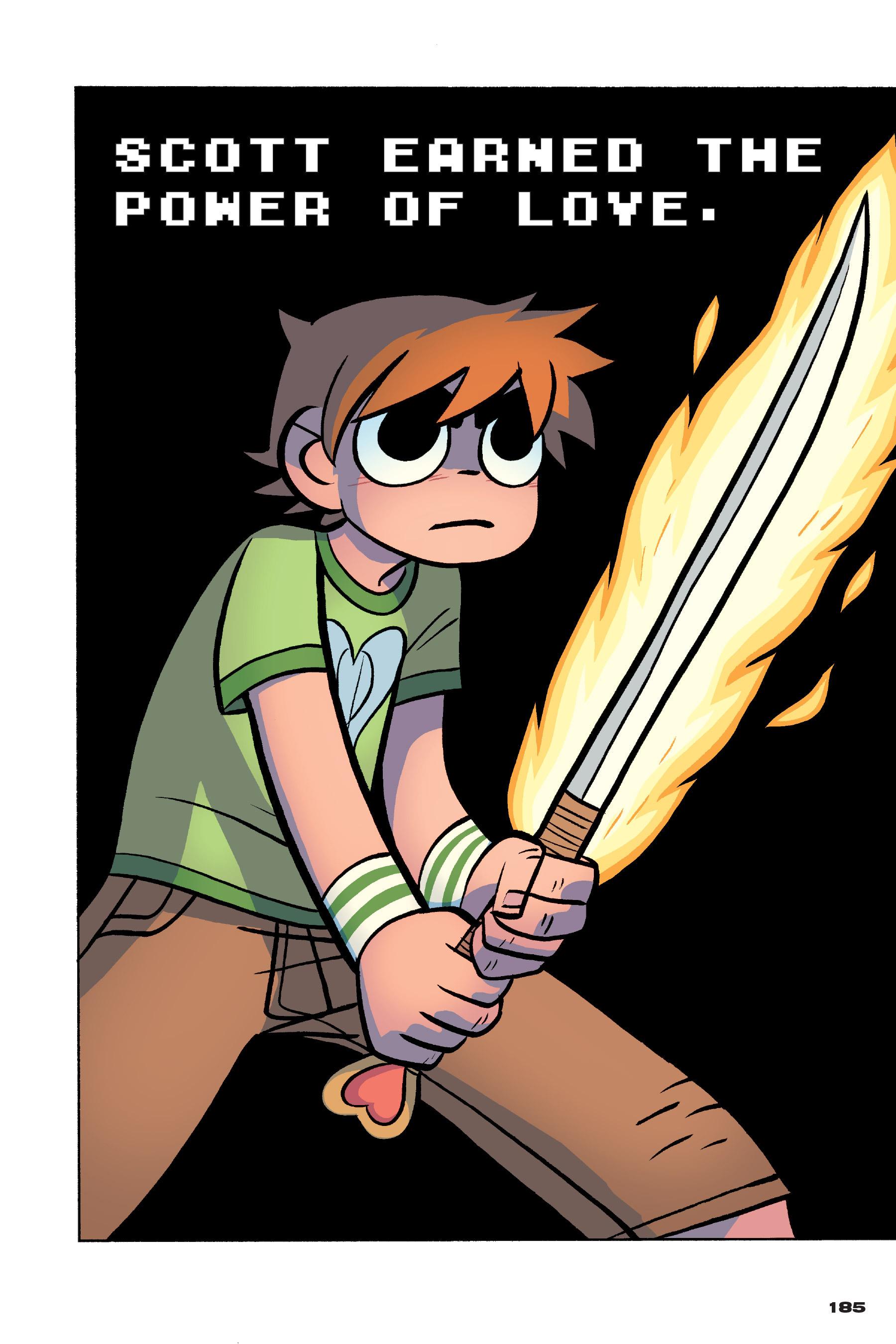 Read online Scott Pilgrim comic -  Issue #4 - 182