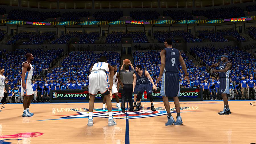 Thunder 2014 Playoffs | NBA 2K14