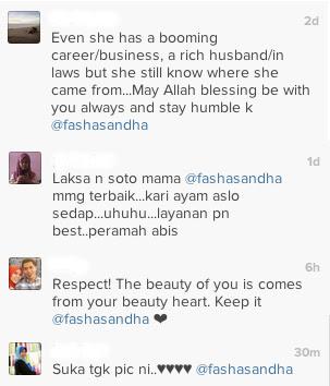 Fasha Sandha Selamba Dukung Anak Berniaga