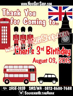 Thanks Card Tema London Sample Tema Design Thanks Card (Kartu Ucapan Terima Kasih)