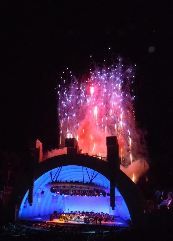 Hollywood Bowl opening night fireworks