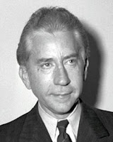 Photo head shot of magnate J. Paul Getty
