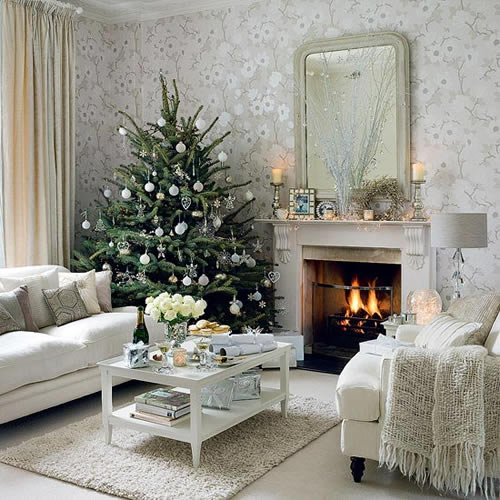 Design classic interior 2012 christmas interior decorations for Christmas interior house decorations