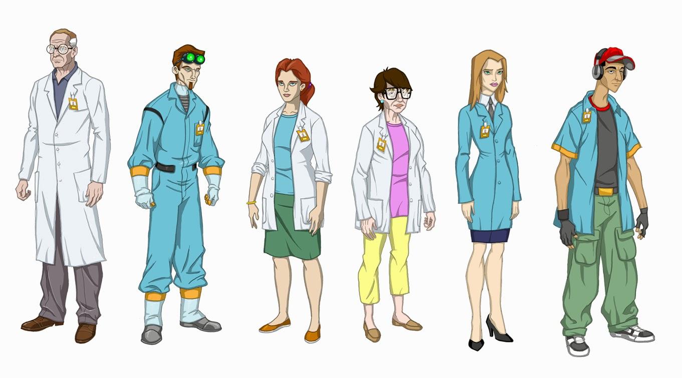 Character Design Young Justice : Darren lee s work dc young justice character designs