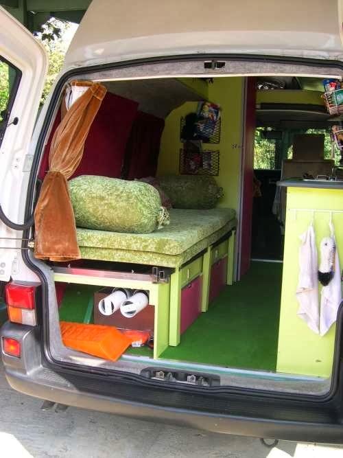 los caminos infinitos ideas de combis van para viaje. Black Bedroom Furniture Sets. Home Design Ideas