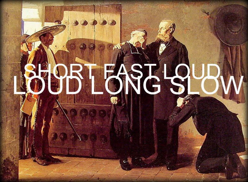 Short Fast Loud/Loud Long Slow