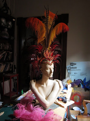 Fire headpiece