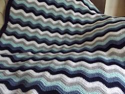 Daniel's Ripple Blanket