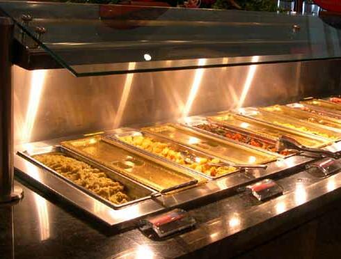 ... Bacon, Bread, Cereal, Eggs, Orange Juice, Pancakes, Milk, Sausage and
