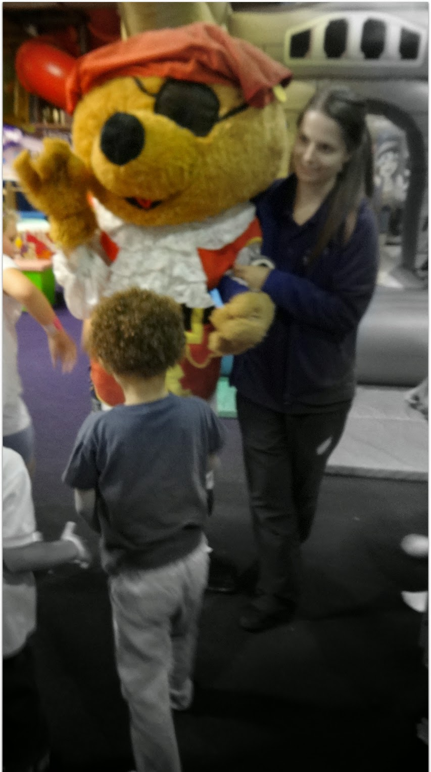 Meeting the Pirate Teddy
