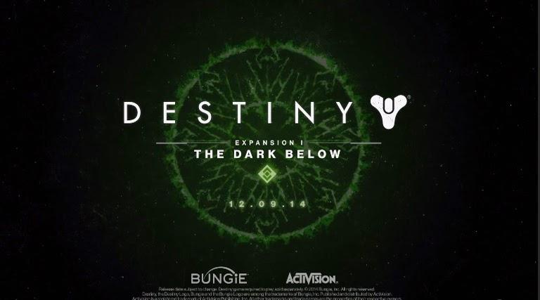Mira aquí el trailer oficial del la nueva expansión de Destiny: The Dark Below