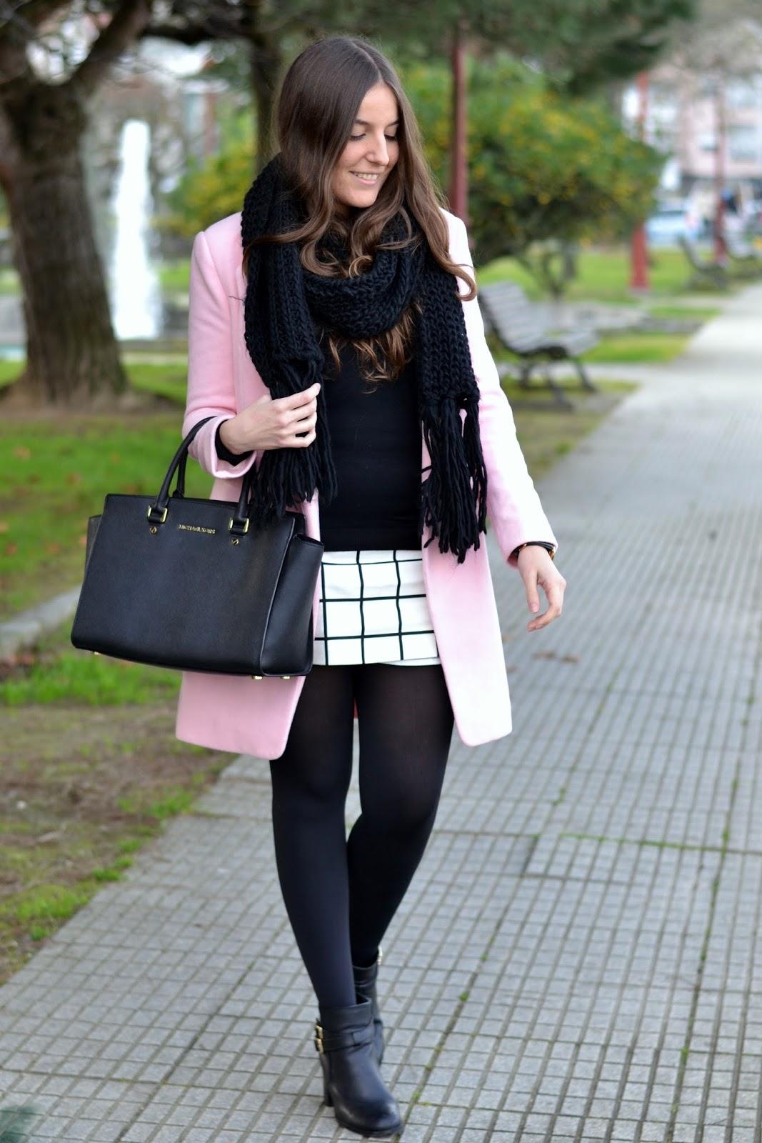 abrigo rosa de choies