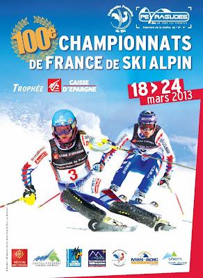 Championnats de France de Ski Alpin 2013 à Peyragudes