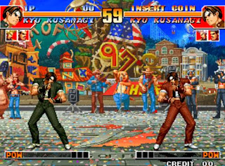 King of Fighters 97 Fight Between Two Brothers