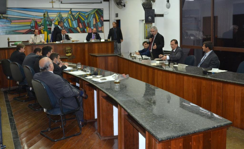 Sessão na Câmara foi marcada pela prática política em prol da cidade
