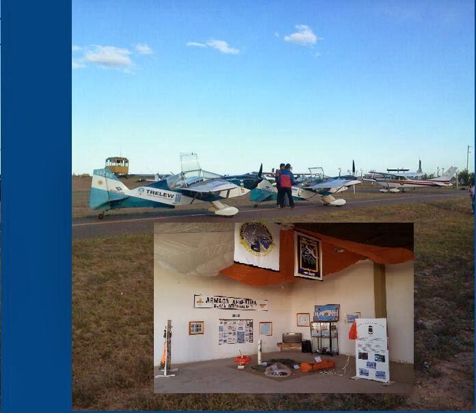 La FAE3 presente en el 75° Aniv. Aeroclub Trelew
