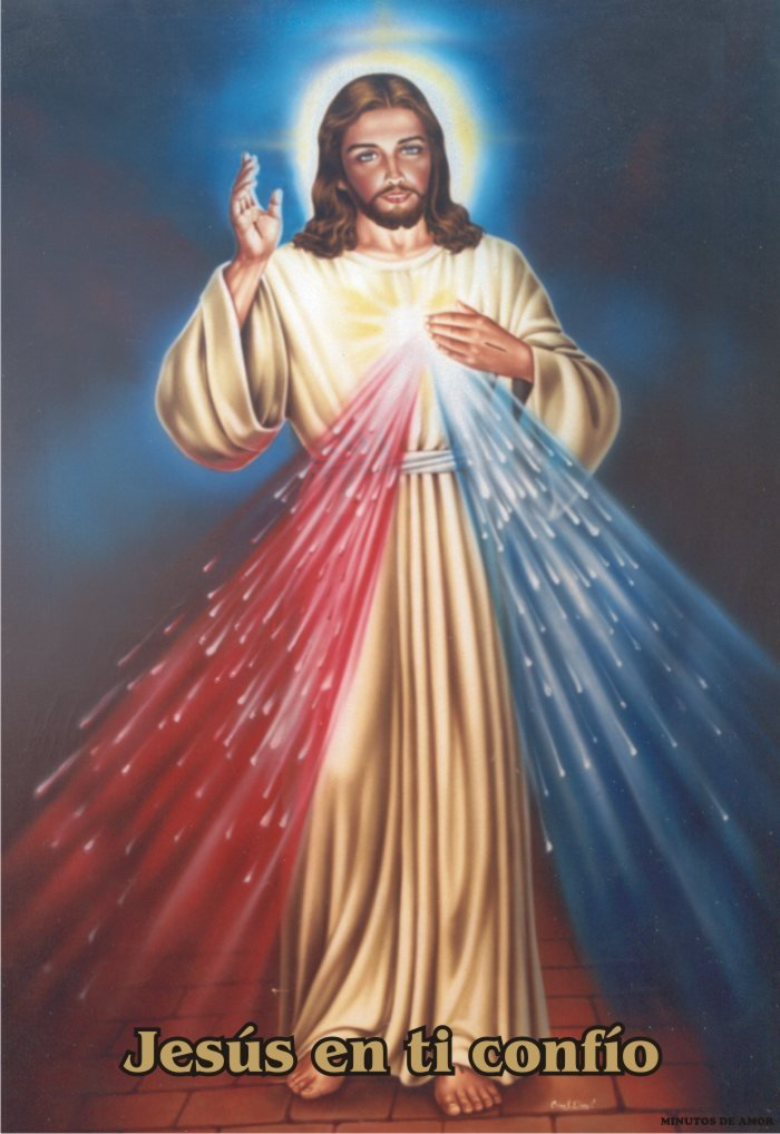 Imagenes de Jesus de la Divina Misericordia en Madrid