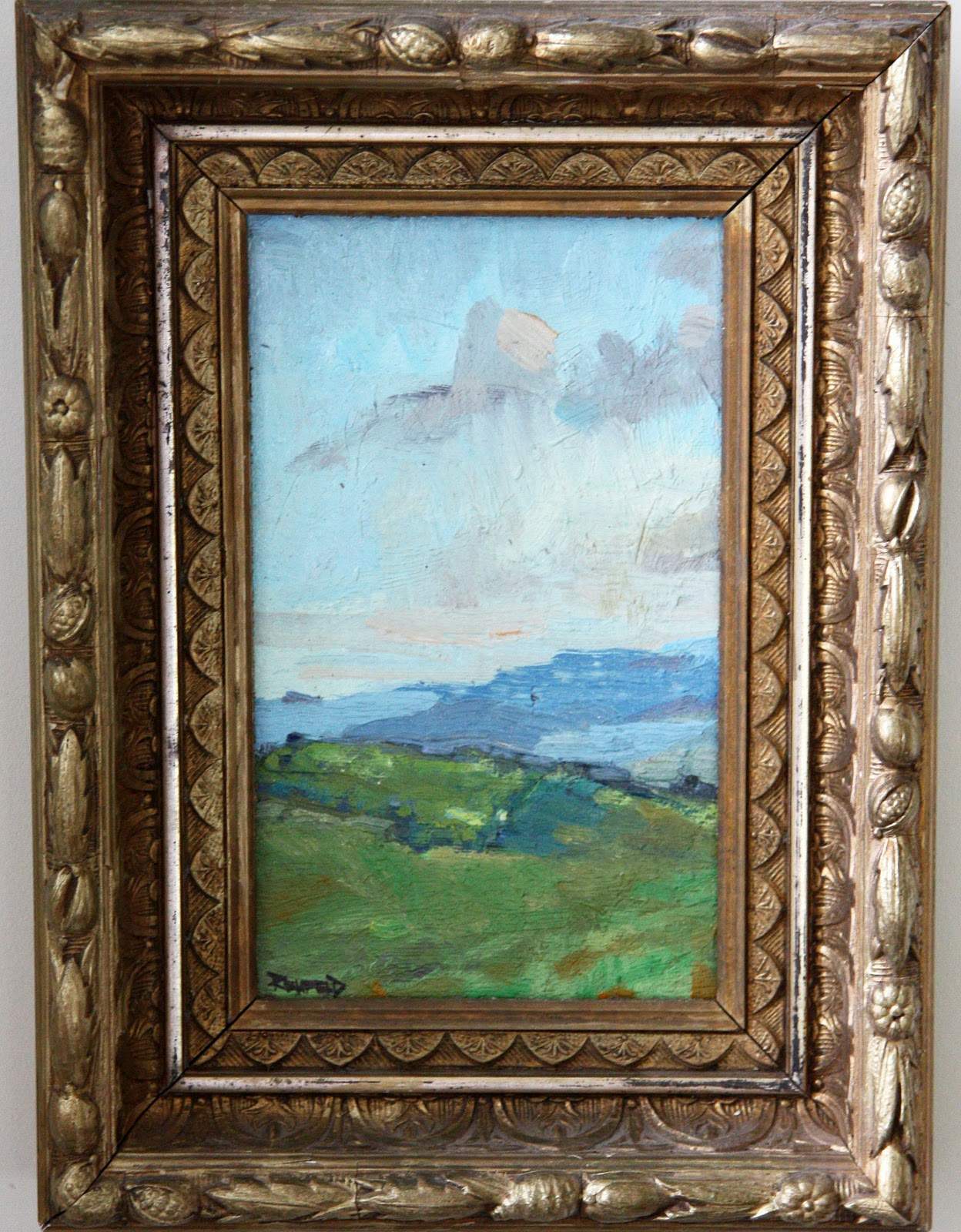 In the fields a love affair with frames the above is an example of recycling beautiful antique frames i found these identical victorian frames in pristine condition i was thrilled when an artist jeuxipadfo Image collections
