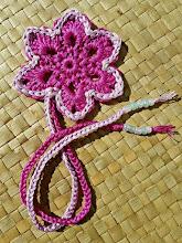Marca páginas a crochet
