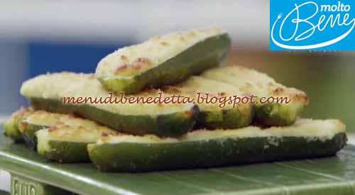 Zucchine ripiene con stracchino e parmigiano ricetta Parodi per Molto Bene