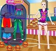 تلبيس فتاة كرة السلة