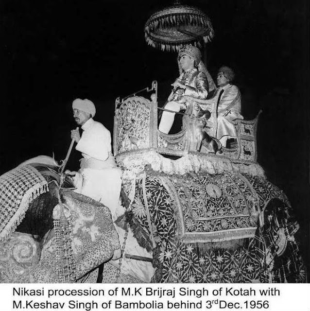 Marraige Procession of Maharao Brijraj Singh