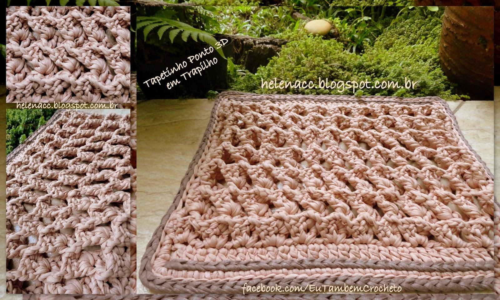 Фото и схемы ковриков в ванну крючком