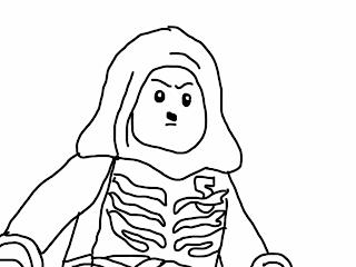 Lego Ninjago Lloyd Coloring Page