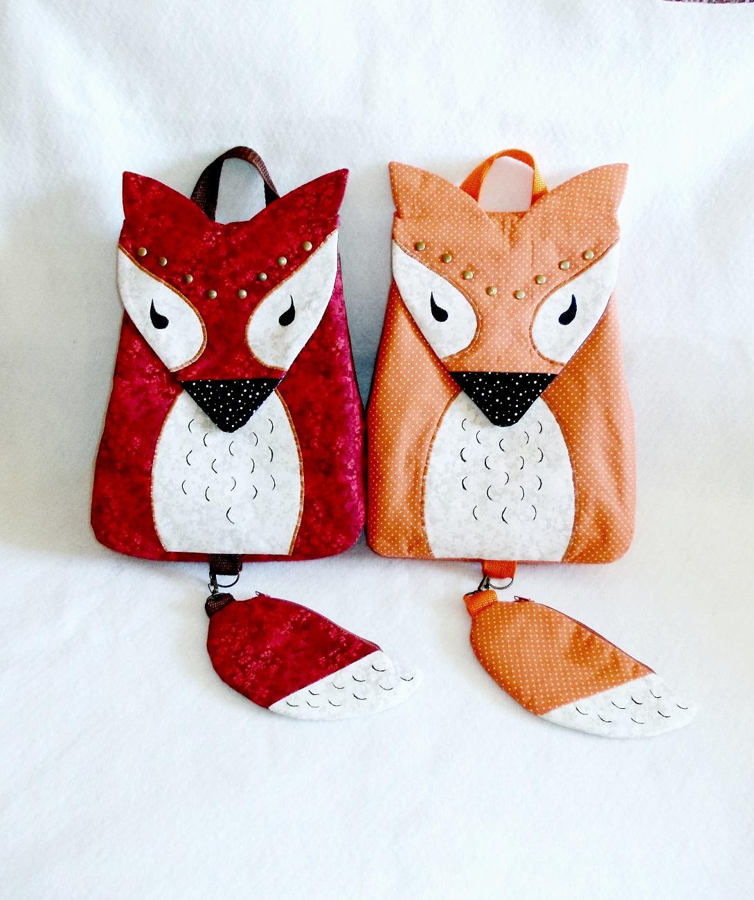 Рюкзак в виде совы своими руками