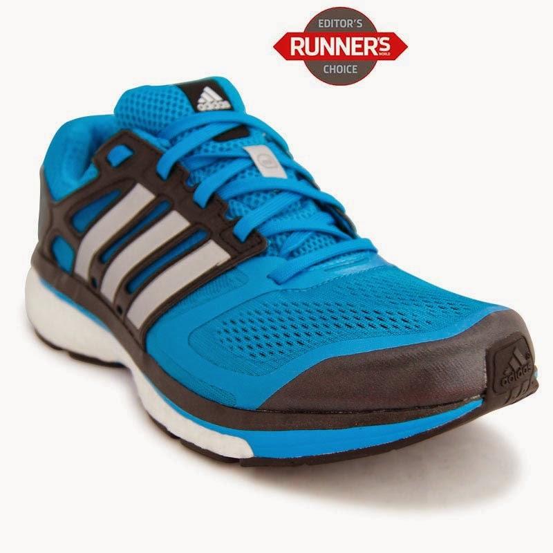 zapatillas adidas running azules