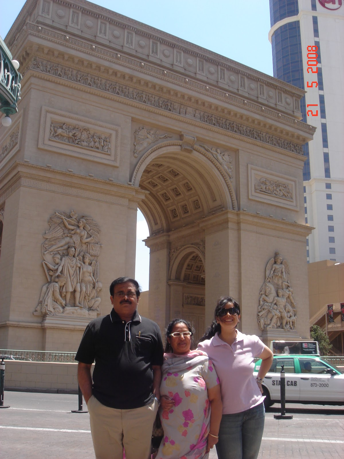 Arc d Triumphe, Hotel Paris,Las Vegas