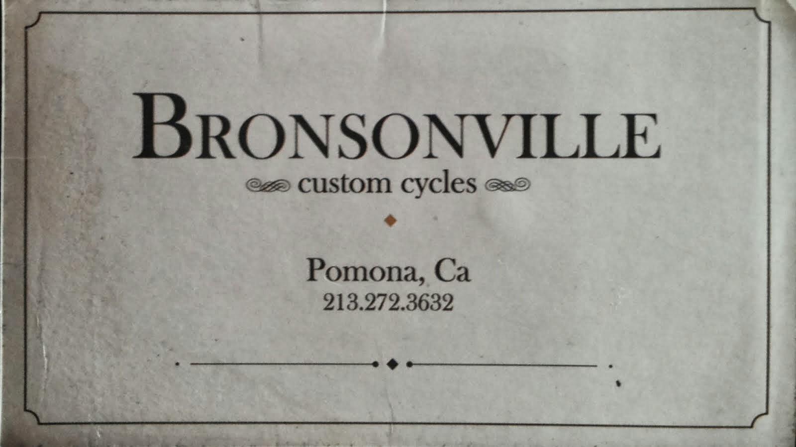 BRONSONVILLE