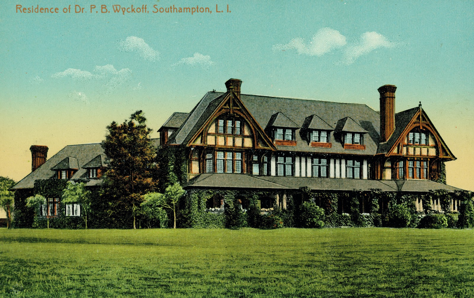 Mansions of the gilded age lost houses of the hamptons for Houses of the hamptons