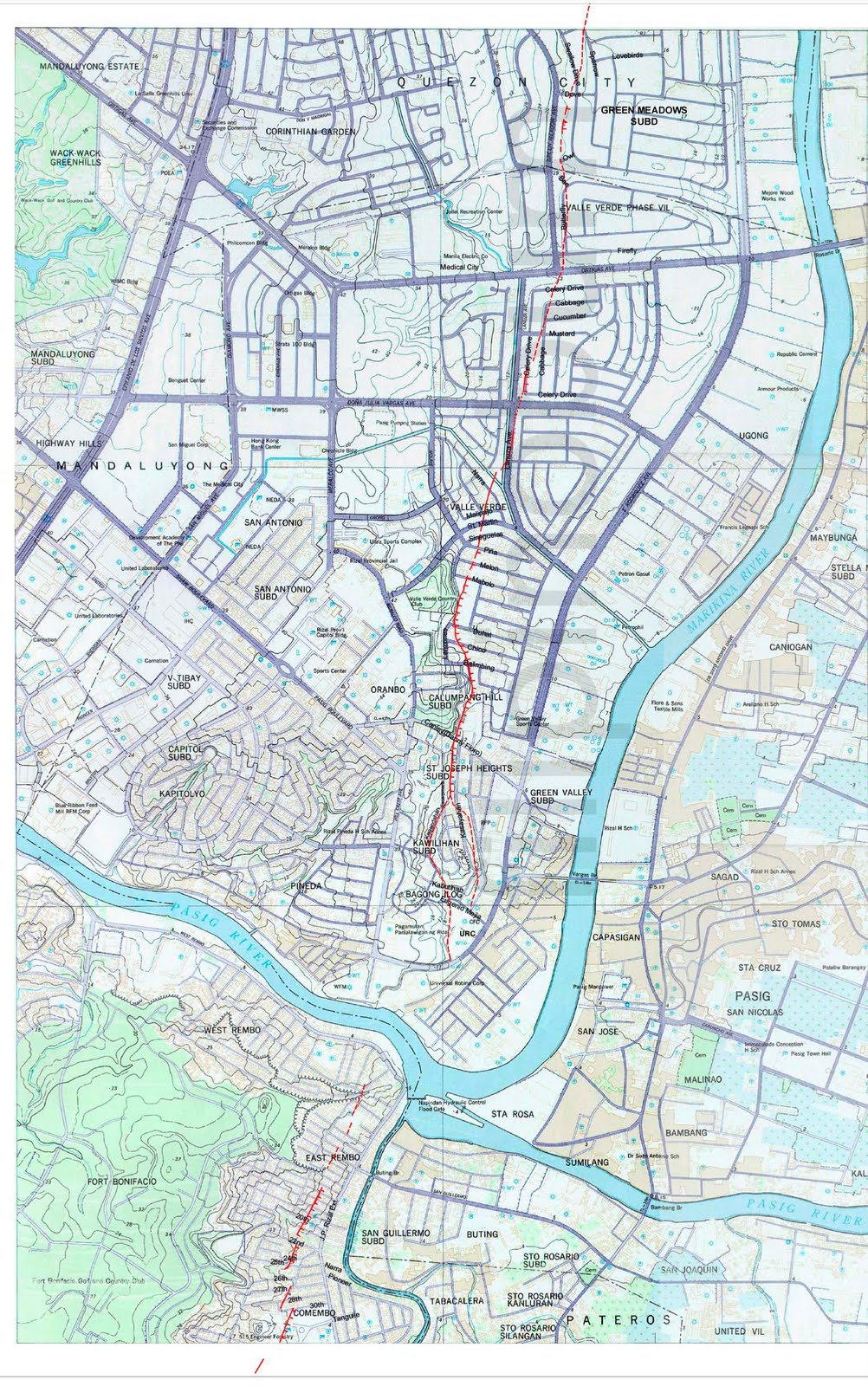 west valley fault line map