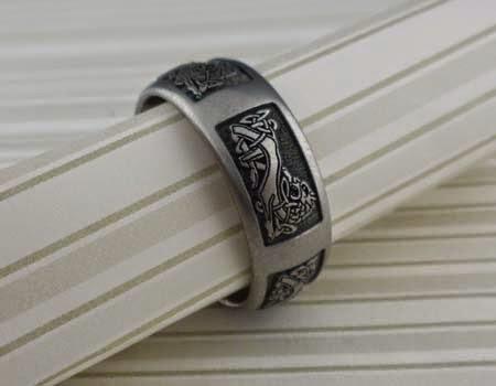 Custom Celtic Wedding Ring