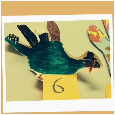 Hand Turkey with hat