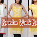 Crosia Designs Kurtis | Knitted Kurtis | Krosha Work