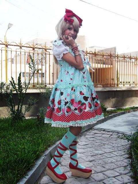 rococo clothing fashion