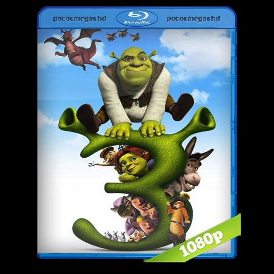 Shrek 3 | 2007 | BRRip 1080p | Audio Dual Latino 5.1 – Ingles + SUB