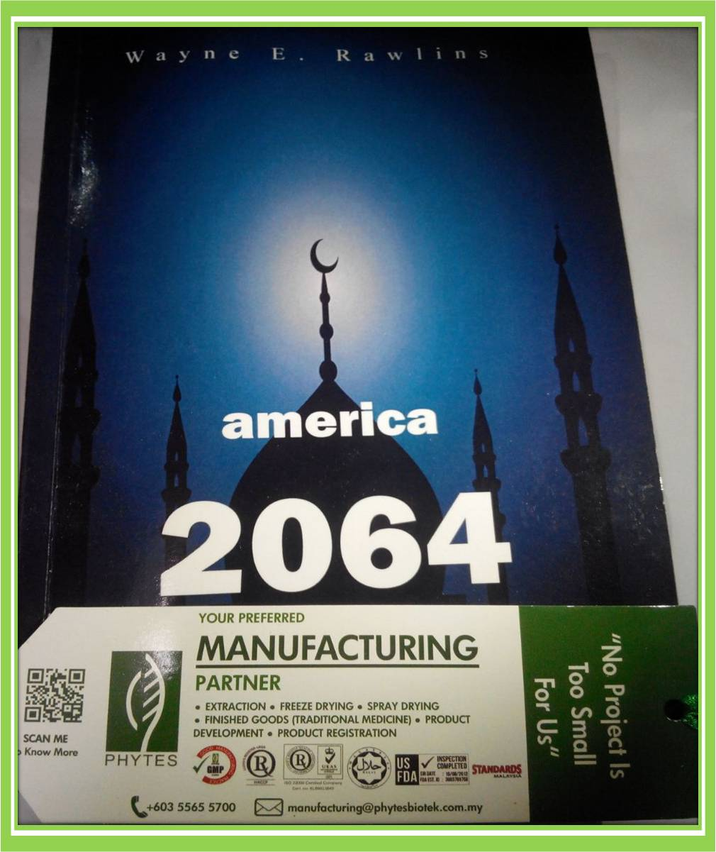 'America 2064' by Wayne E.Rawlins (Must Read ) Nu-Prep Tongkat Ali Perfect Supplement.