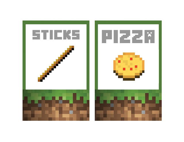 Minecraft Food Labels