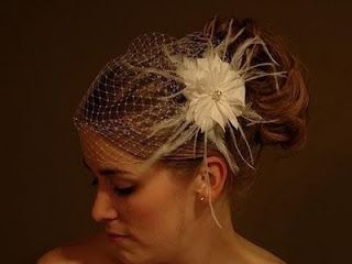 wedding veils headpieces short hair
