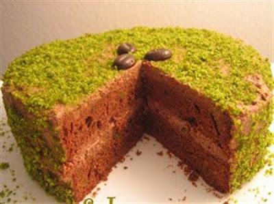 Fıstıklı pasta