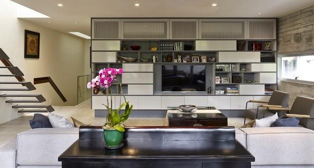 gambar contoh desain rumah minimalis modern 3 lantai di